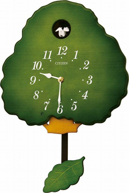 """鳩時計 カッコークロック 掛け時計""""グレイスカッコー413""""  リズム時計(日本製) 4MJ413-RH05 [送料無料]"""