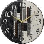 ザッカレラ掛け時計 (クオーツ) (陶器:イタリア製) ZC186-003 [送料無料