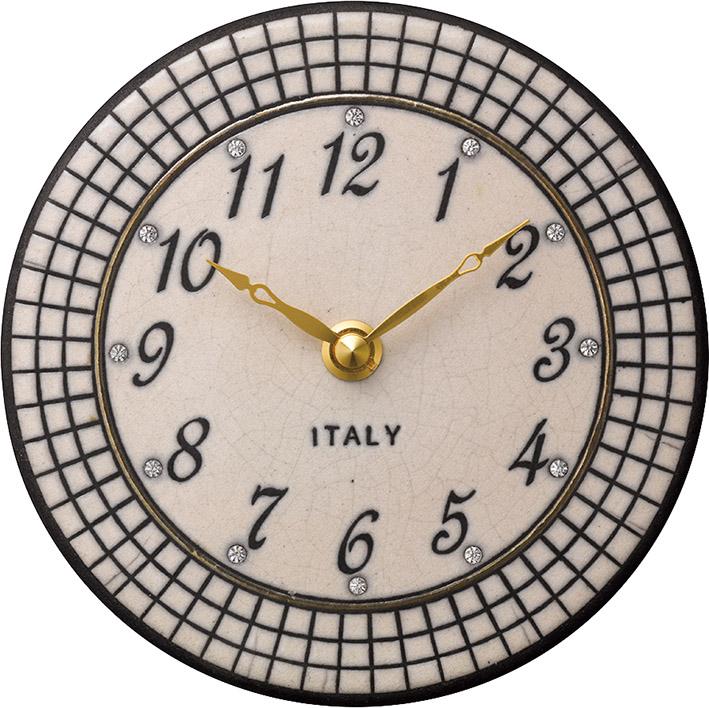 ザッカレラ掛時計(クオーツ)(陶器:イタリア製) ZC923-003[送料無料]