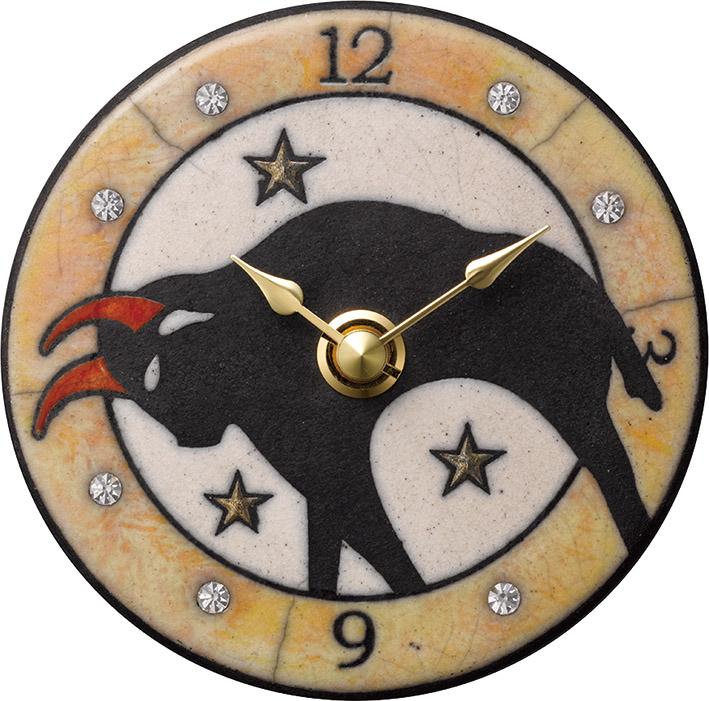 ザッカレラ掛時計(クオーツ)(陶器:イタリア製) ZC927-003[送料無料]