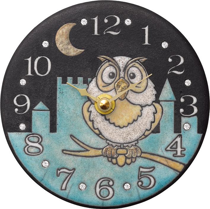 ザッカレラ掛時計(クオーツ)(陶器:イタリア製) ZC925-004[送料無料]
