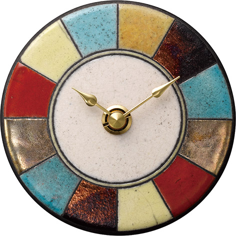 ザッカレラ掛時計(クオーツ)(陶器:イタリア製) ZC940-003[送料無料]