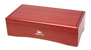 72弁オルフェウス クルピシャ材 ワインレッド サンキョー(日本製)EX384J/K+オルゴール共鳴箱セット
