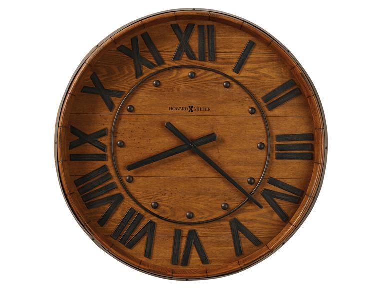 ハワードミラーHowardMiller 掛時計 WINE BARREL WALL 625-453 アメリカ製 [送料無料]