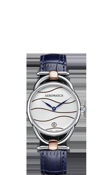 驚きの価格が実現 スイスの名門 AEROWATCH社の女性用腕時計 アエロ腕時計 女性用Sensual ブランド品 Collection Dune BI04 送料無料 07977