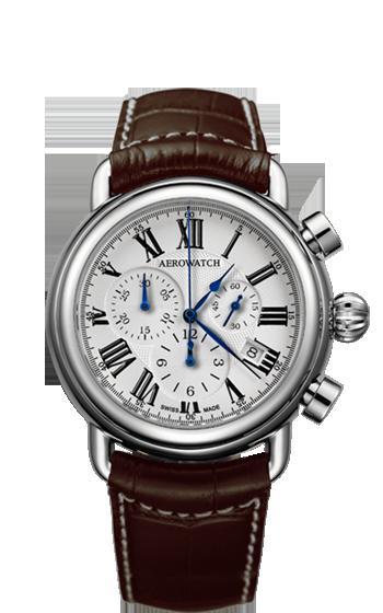 アエロ腕時計 1942 Collection Homage 1910 & Chronograph Quartz 83939 AA07 [送料無料]