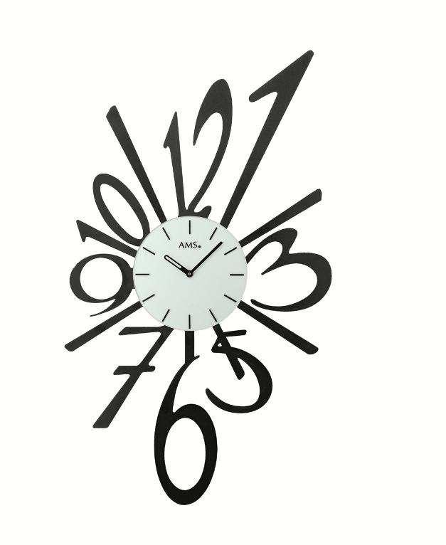 AMS(アームス)お洒落な掛時計 AMS9382