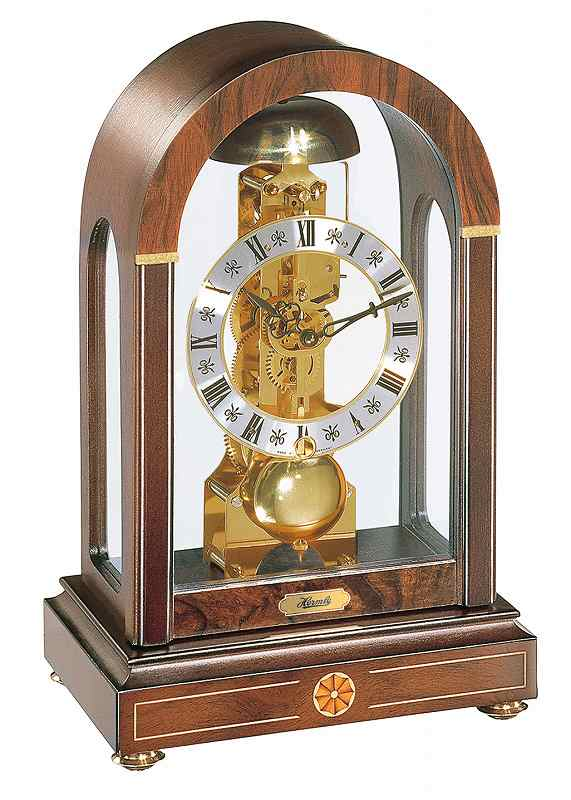 ヘルムレ 置き時計  (機械式)  ドイツ製 22712-030791 [送料無料]