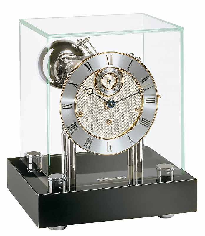 安心と信頼 予約 ヘルムレ 置き時計 機械式 ドイツ製 送料無料 22801-740352