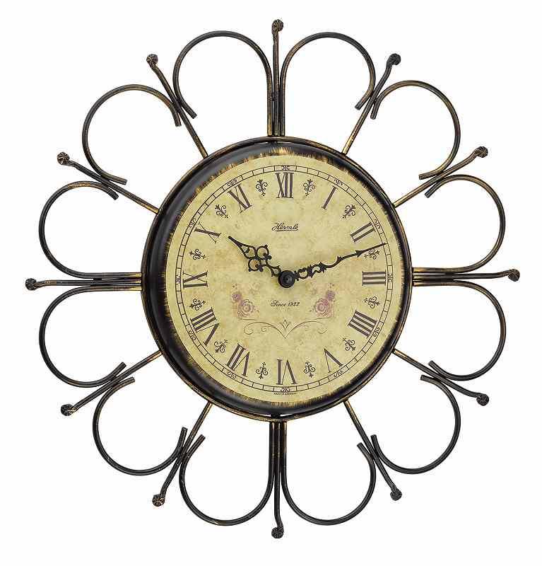 ヘルムレ 掛時計 アンティークタイプ (クオーツ)  ドイツ製 30896-002100 [送料無料]50%割引・・・特別価格にて提供中