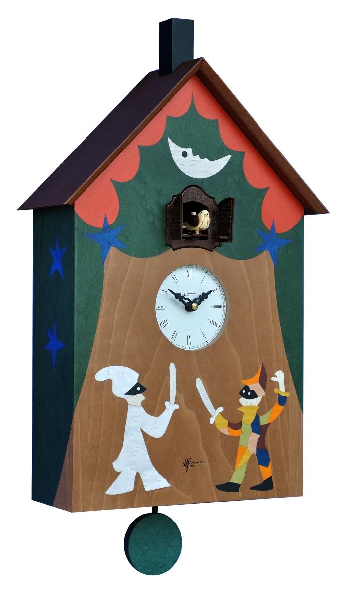 Pirondini社製 カッコー時計(鳩時計) クォーツタイプ ピロンディーニ イタリア製 ART-119