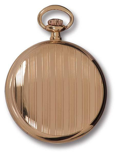 ラポート懐中時計  オープンフェイスタイプ 手巻き ローズゴールド金時計 (イギリスRapport社製)PW83 [