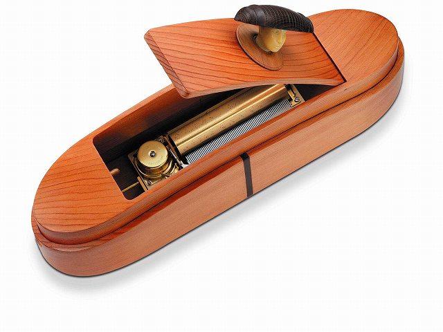 リュージュ REUGE 72弁3曲入りオルゴール杉材楕円ボックス R5168-000