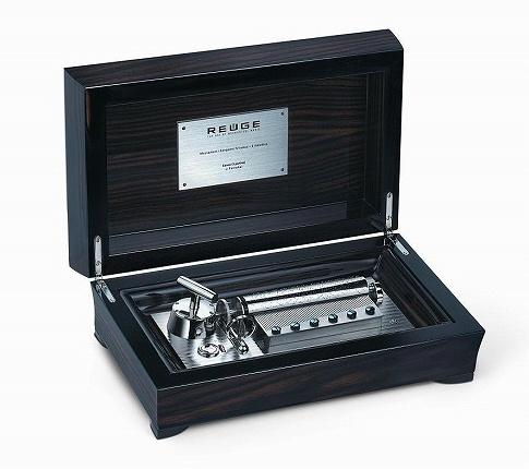 リュージュ REUGE 72弁3曲入りオルゴール マッカサル産黒檀材BOX R5453-002