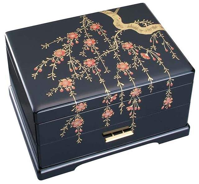 morinouta Rakuten Global Market Lacquered drawer jewelry box