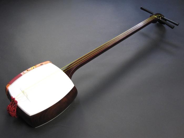 (上)長唄紅木三味線セット(A)