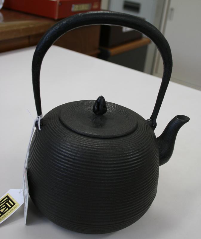 鉄瓶「棗型糸目」1.6L