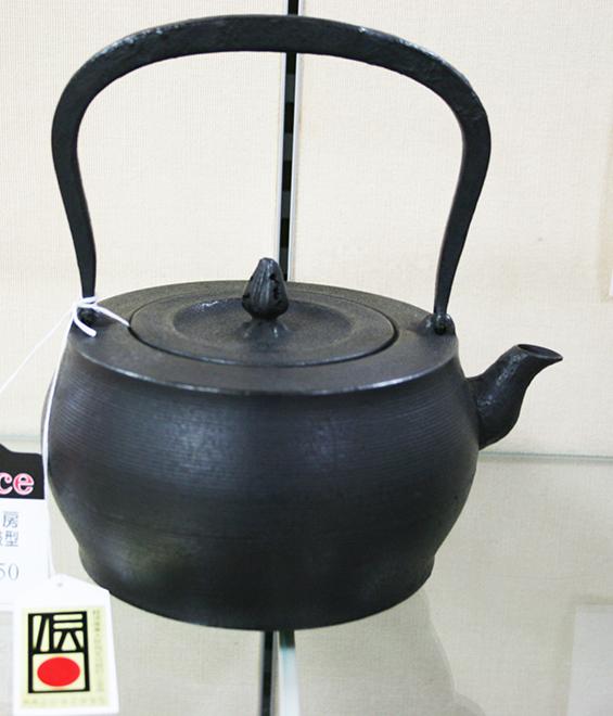 鉄瓶 太鼓型 1.2L