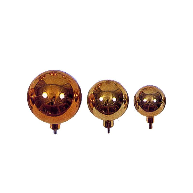【旗付属品】国旗玉 竿頭 金球 ネジ式 直径15cm