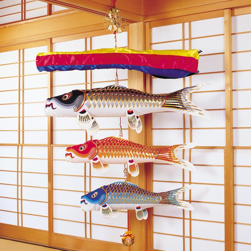 【室内鯉のぼり】錦鯉 鯉物語 五月の薫り 江戸錦鯉 こいのぼり 五月人形 内飾り 室内飾り