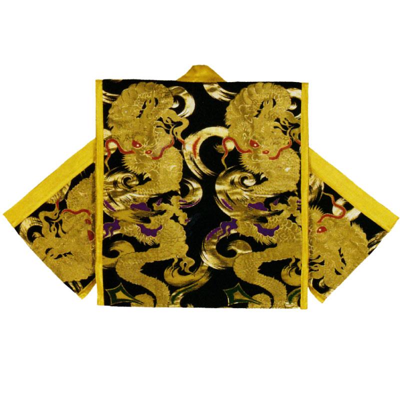【半纏・法被・よさこい衣裳・太鼓衣裳】金襴袖なし袢天 B9808