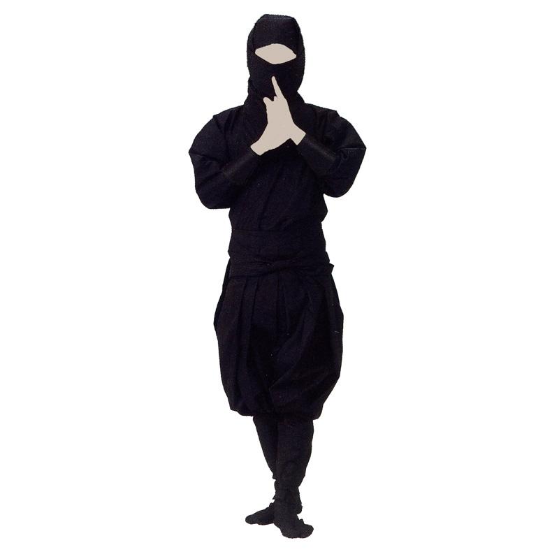 【お祭り用品・衣装】忍者衣裳セットB8332【お祭用品/祭用品/お祭り】