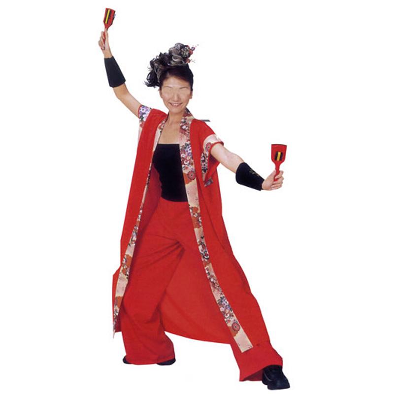 【よさこい衣装】よさこい袖なし袢天 C20070 【お祭用品/祭用品/お祭り】