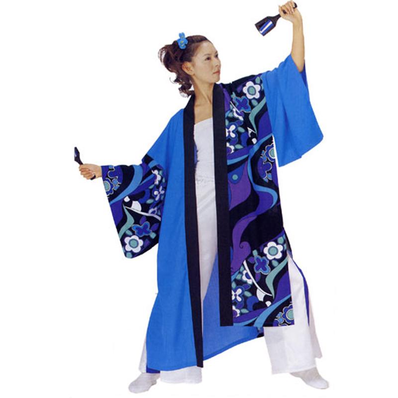 【よさこい衣装】よさこい長袢天 C73100【お祭用品/祭用品/お祭り】