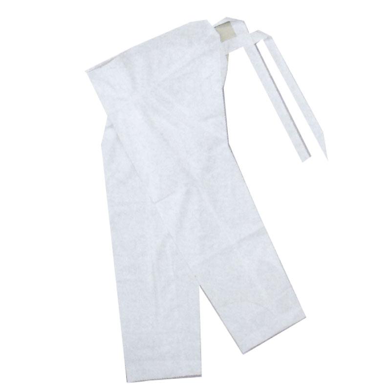 【お祭り用品・衣装】腹当付白ダボズボン 股引きタイプ 3L B777