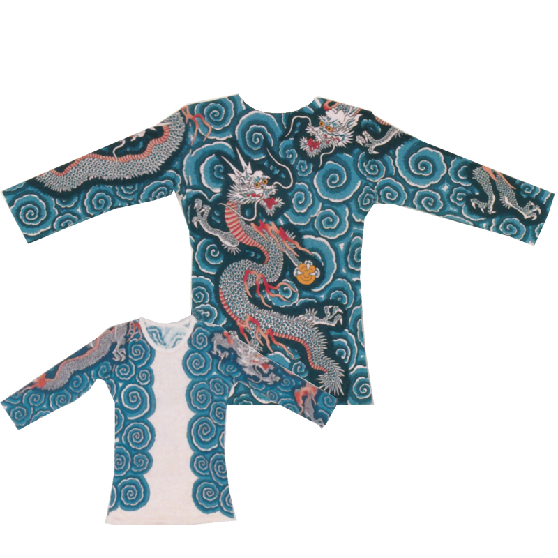 【お祭り用品・衣装】肉襦袢 タトゥー 入れ墨 シャツB622