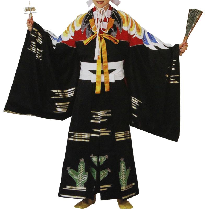 【お祭り用品・衣装】三番叟衣装 上衣と袴セット B8309【お祭用品/祭用品/お祭り】