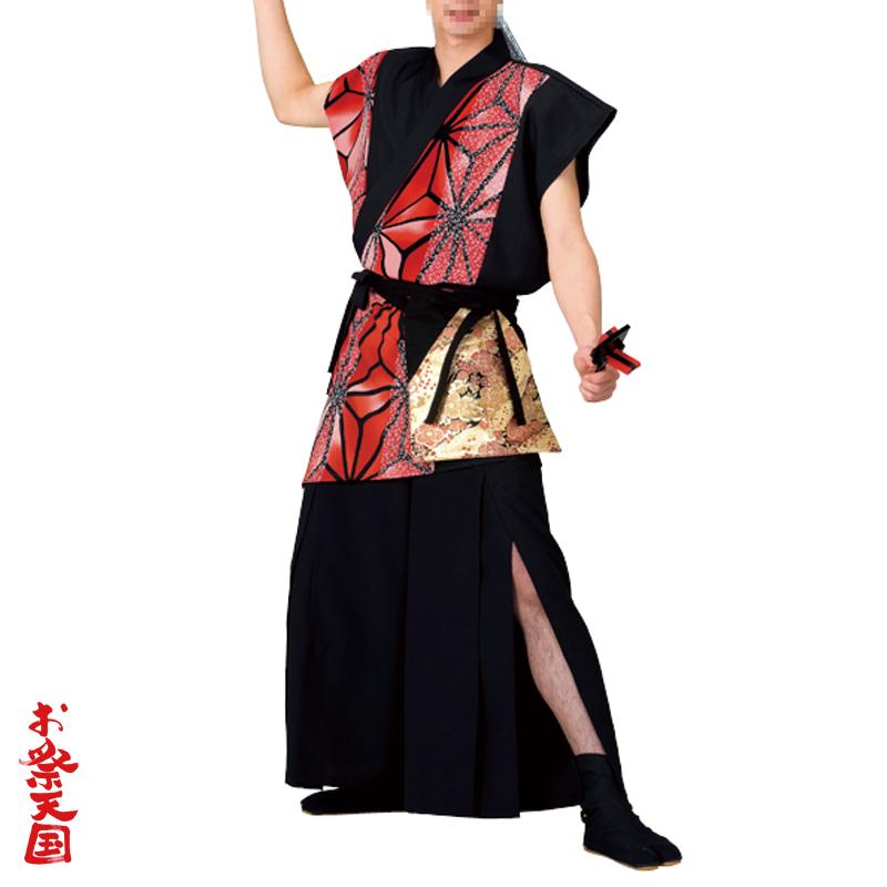 よさこい祭り 新作販売 踊り衣裳 よさこい袖なし打合せ袢天 C73094 お祭用品 お祭り ご注文で当日配送 よさこい まつり用品