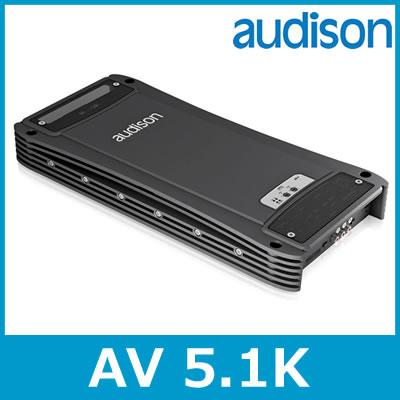audison(オーディソン) Voce AV 5.1k 5chパワーアンプ 75W×2ch+140W×2ch+600W×1ch