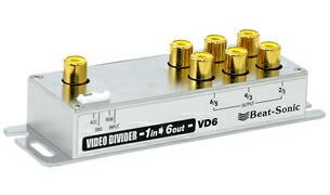 Beat Sonic(ビートソニック) VD6 1入力-6出力 映像分配器