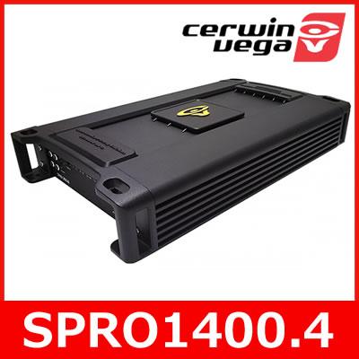 Cerwin Vega(サーウィンベガ) SPRO1400.4 ストローカープロシリーズ 4chパワーアンプ