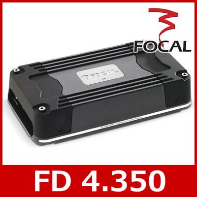 【日本正規品】 FOCAL(フォーカル) FD 4.350 カスタムフィットモデル 4chパワーアンプ 58W×4ch