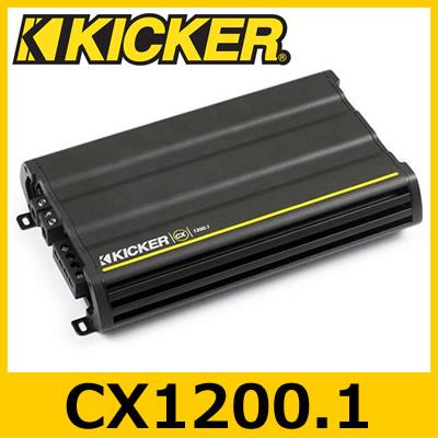 KICKER(キッカー) CX1200.1 CXシリーズ 1chパワーアンプ 600W×1ch
