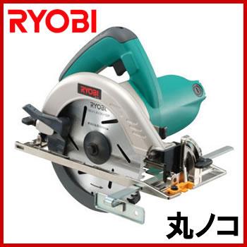 RYOBI(リョービ) W-500D 電動丸ノコ(165mm) LEDライト付