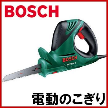 BOSCH(ボッシュ) PFZ500E 電動のこぎり ブレードがボタン一つで着脱可能 電子無段変速