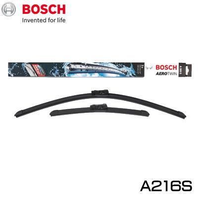 輸入車用フロントワイパーセット BOSCH ボッシュ 輸入車用 メーカー直送 エアロツイン 外車用ワイパー ブレード 品番 新作続 A216S輸入車