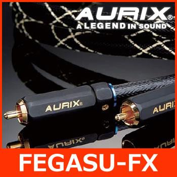 AURIX(オーリックス) FEGASU-FX フェガス-FXシリーズ(1m) RCAケーブル 2チャンネルモデル