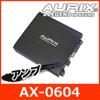 【日本正規品】 AURIX(オーリックス) AX-0604 パワーアンプ 60W×4ch