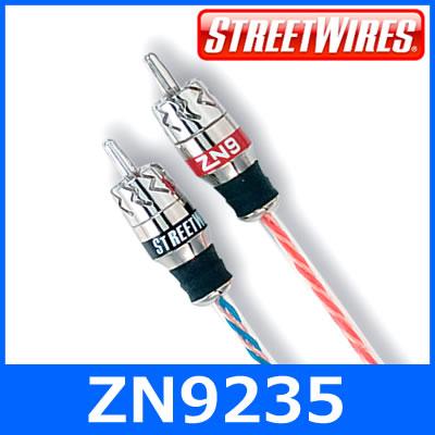 STREETWIRES(ストリートワイヤーズ) ZN9235 RCAケーブル(3.5m) 2チャンネルモデル 音声/ピンケーブル/ラインケーブル