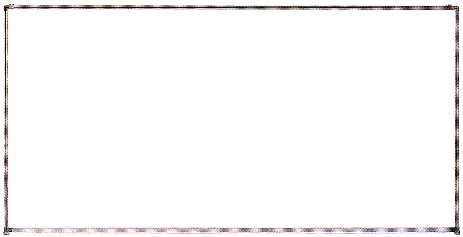 吊り下げ式 ホーローホワイトボードH900mm×W1800mm×D14mm[送料無料・マーカー付属品付き]