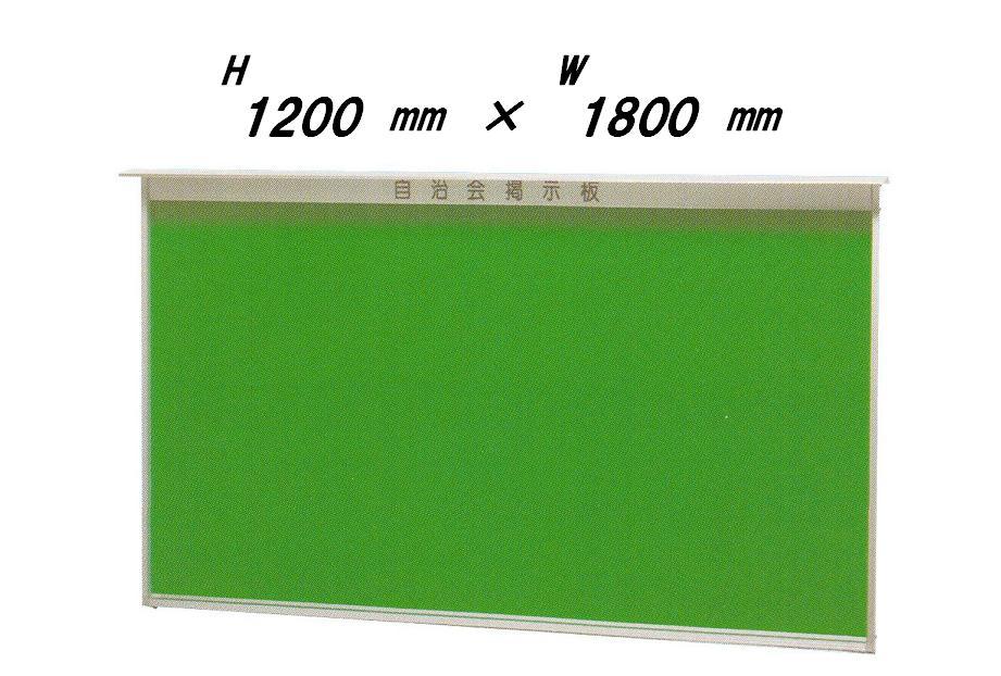 壁付型 ヒサシ付き 屋外掲示板H1200mm×W1800mmタイプ【送料無料】