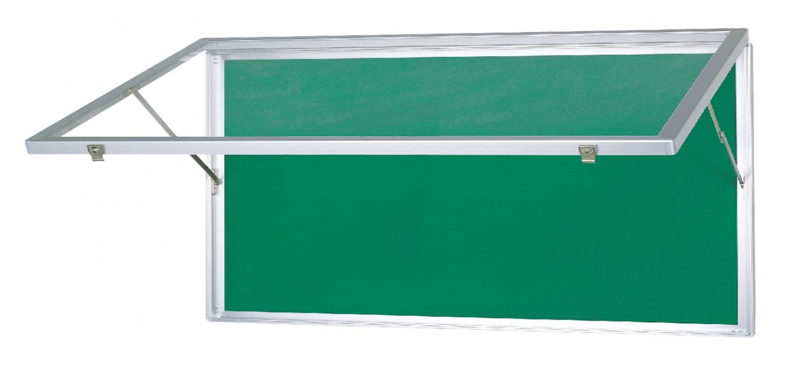 壁付型 跳ね上げ式 ポスターケース (屋内用)H930mm×W1830mm×D80mm[送料無料]