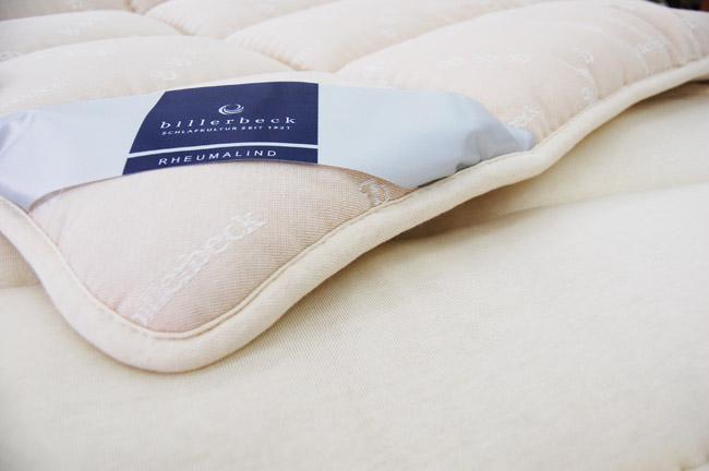【売れ筋】最高級天然素材羊毛敷きふとん ビラベック ボゥルフ羊毛敷きふとん ダブルサイズ