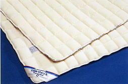 快適な睡眠にこだわるドイツ気質が作り上げた ビラベック羊毛ベッドパッド セミダブルサイズ