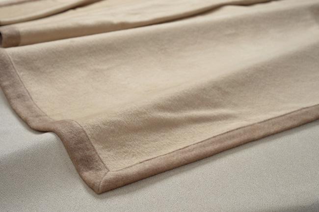 京都西川 「繊維の宝石」カシミヤ毛布15004 カシミヤ100% シングルサイズ 【送料無料】