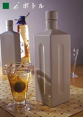 日本一うまい水を飲むなら伊賀焼きマイナスイオン i-ボトル フィットラジウム系鉱石を施している半永久的にマイナスイオン発生焼酎 そうめんつゆ むぎ茶 海外 ワイン 日本未発売